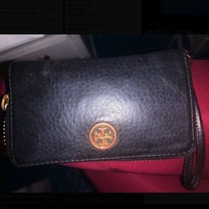 Old Tory Burch Wrist Wallet